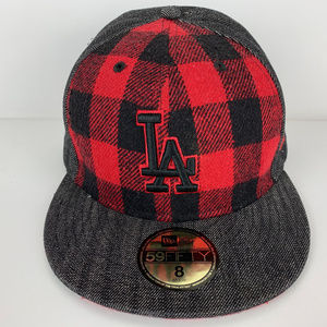 Los Angeles Dodgers Flannel New Era Hat 8